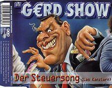 DIE GERD SHOW : DER STEUERSONG (LAS KANZLERN) / 3 TRACK-CD - NEU