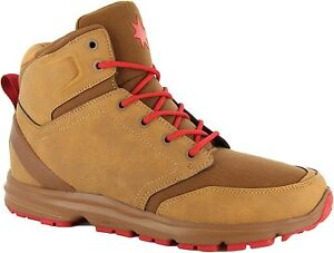 DC Men's Shoes Authentic Ranger Unrestricted Tan/Red Boots 320077