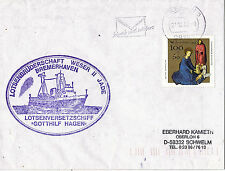 GERMAN PILOT SHIP MS GOTTHILF HAGEN SHIPS CACHED COVER