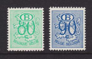 Belgium Sc O53-O54 MNH. 1953 80c & 90c Officials, fresh, F-VF