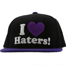 Snapback I Love Haters Cap Blogger Last kings Obey Tisa YMCMB MMG YOLO New