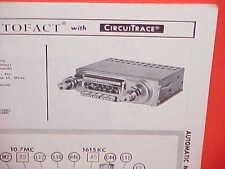 1963 FORD GALAXIE 500 XL PONTIAC PLYMOUTH SPORT FURY AM-FM RADIO SERVICE MANUAL