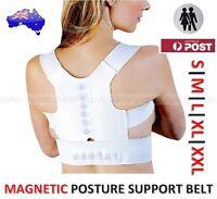 MAGNETIC BACK POSTURE SUPPORT BELT BRACE-EASE BACK PAIN & IMPROVE POSTURE-UNISEX