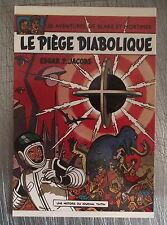 Carte postale Blake et Mortimer, Le piége diabolique ,CPSM