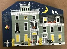 Cat'S Meow Village - 1997 Halloween Limited Edition - Eerie Estate Haunted House