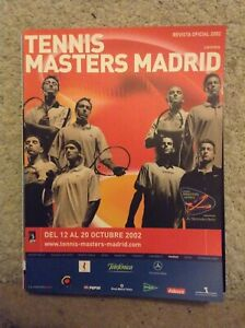 2002 Tennis Masters Madrid Programme: Men's Tennis: ATP