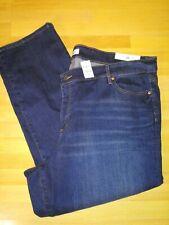 NWT Ann Taylor LOFT PLUS Size 26 Women's Modern Straight Jeans