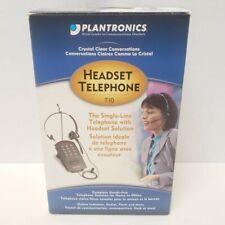 Plantronics T10 Single Line Complete  Headset New Open Box