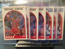 7 1990 Hoops Michael Jordans 4 base 3 all star weekend