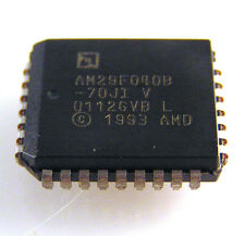 AMD am29f040b-70ji 4mg 512k x 8bit CMOS 5v-MEMORIA FLASH solo omb2-33