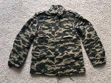 BAPE M65 HEAVY JACKET SZ M A BATHING APE CAMO shark hoodie
