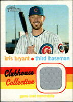 2020 Topps Heritage Clubhouse Collection Relics #CCRKB Kris Bryant Jersey -NM-MT