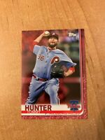 2019 Topps Series 2 - Tommy Hunter - #619 Mother's Day Pink Parallel #d 17/50