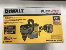 """DeWalt Dcd460T1 Flexvolt 60V Cordless&Brushless 1/2"""" Stud&Joist Drill Kit New!"""