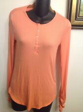 VICTORIA'S SECRET PINK SHIRT NEW WITH NO TAGS SIZE SMALL RUCHED SLEEVES SIZE SM