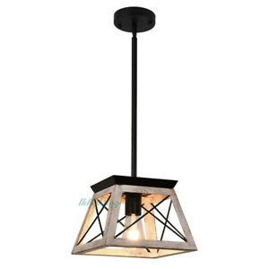 1 Light Farmhouse Chandelier Metal Kitchen Island Light Pendant Light Fixture