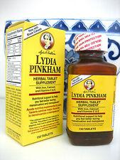 Lydia Pinkham HERBAL 150 Tablets MENOPAUSE menstruation menopausia menstruacion