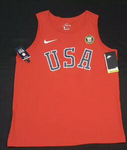 Nike Men's Team USA Olympics Tank Top Sleeveless Shirt Sz. 2XL NEW  CN1537-657