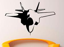 Airplane Aircraft Wall Decal Vinyl Sticker Aviation Interior Art Decor (18air4)