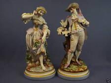 Coppia di statue in porcellana francese XIX secolo