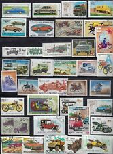 Cars- Trucks - & Motorcycles - 40 Different Stamps.Br - #8D10