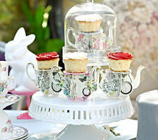 Truly Alice in Wonderland mini Cup Cake stands  tea party