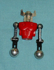 vintage Mego Micronauts RED ACROYEAR II PARTS LOT #3 torso ball-fist arms head