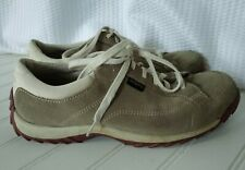 Simple Brand Womens Size 8.5 Gray/Taupe Suede Leather Sneaker Shoes