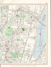 1964  VINTAGE LONDON STREET MAP - PONDER'S END,UPPER AND LOWER EDMONTON,