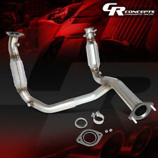 Oe Style Catalytic Converter Exhaust Y-Pipe For 07-09 Tahoe Yukon Xl Avalanche
