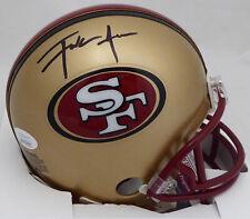 FRANK GORE AUTOGRAPHED SIGNED SAN FRANCISCO 49ERS MINI HELMET JSA 161019