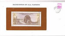 Franklins billets de toutes les nations de la syrie 1 P95d 1978 unc