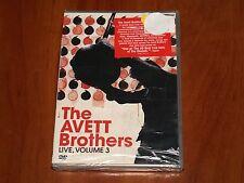 THE AVETT BROTHERS LIVE VOLUME 3 DVD CONCERT PERFORMANCE 2009 CHARLOTTE NC New