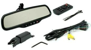 """Rostra Mirror With Onstar Controls and 4.3"""" Monitor 250-8820"""