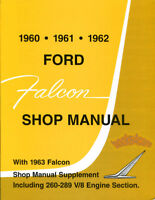 FALCON FORD SHOP MANUAL SERVICE REPAIR BOOK WORKSHOP RESTORATION GUIDE