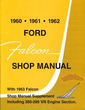 SHOP MANUAL FALCON SERVICE REPAIR FORD BOOK WORKSHOP RESTORATION GUIDE