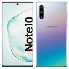 Samsung Galaxy Note 10 in Silber Handy Dummy Attrappe Requisit, Deko, Aussteller
