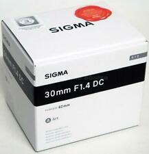 Sigma 30mm f1.4 dc HSM tipo objetivamente para Canon EF-S 013 negro lens