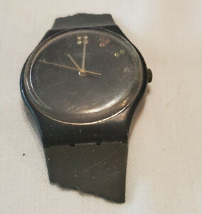 Swatch Limelight Vintage Watch Men's Swatch Very Rare with Gems Jewels