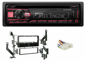 ALPINE CD Receiver Stereo Android/MP3/WMA/USB/AUX For 07-11 Toyota Yaris