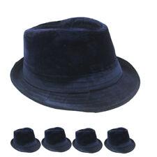 Fedora Hat WINTER WOMEN MEN Wedding Dress Formal BLUE CAP FASHION VALENTINES