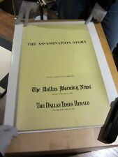 Rare! THE ASSASSINATION STORY Dallas Times Herald J F KENNEDY 1964 Warren Report