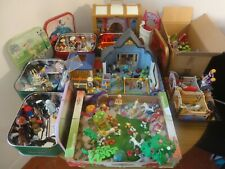 Gros lot Playmobil dont fées, clinique, coffre princesses, Noël, box chevaux...