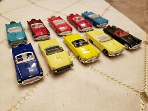 VTG Matchbox Lot of 10 1957 Ford Thunderbirds w/ Exclusives - Loose