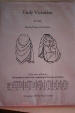 Truly Victorian Bustled Overskirt Multi-Sized TV305 Sewing Pattern Uncut