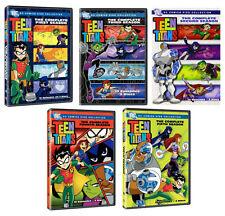 TEEN TITANS Complete Season 1-5 Series 1 2 3 4 5 DC Comics Collection NEW DVD R4