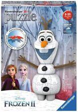 RAVENSBURGER 11157 - 3D Puzzle - Frozen 2, Olaf, 54 Piezas