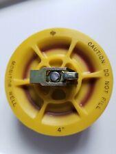 New Ebwfranklin 772 109 01 4 Monitoring Well Cap Plug Yellow