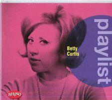 CURTIS BETTY -   PLAYLIST   - BEST  CD NUOVO SIGILLATO