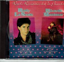 Rudy La Scala Ricardo Montaner Regalo Romantico de Dos Grandes   NEW SEALED  CD